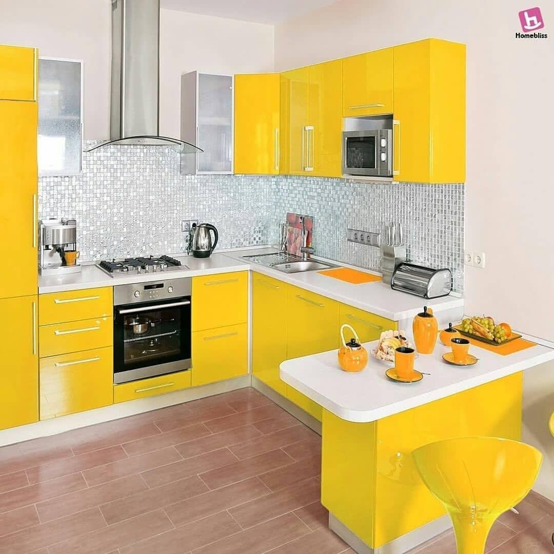 Dapur kuning cakeep cr from homeblissindia semoga terinspirasi