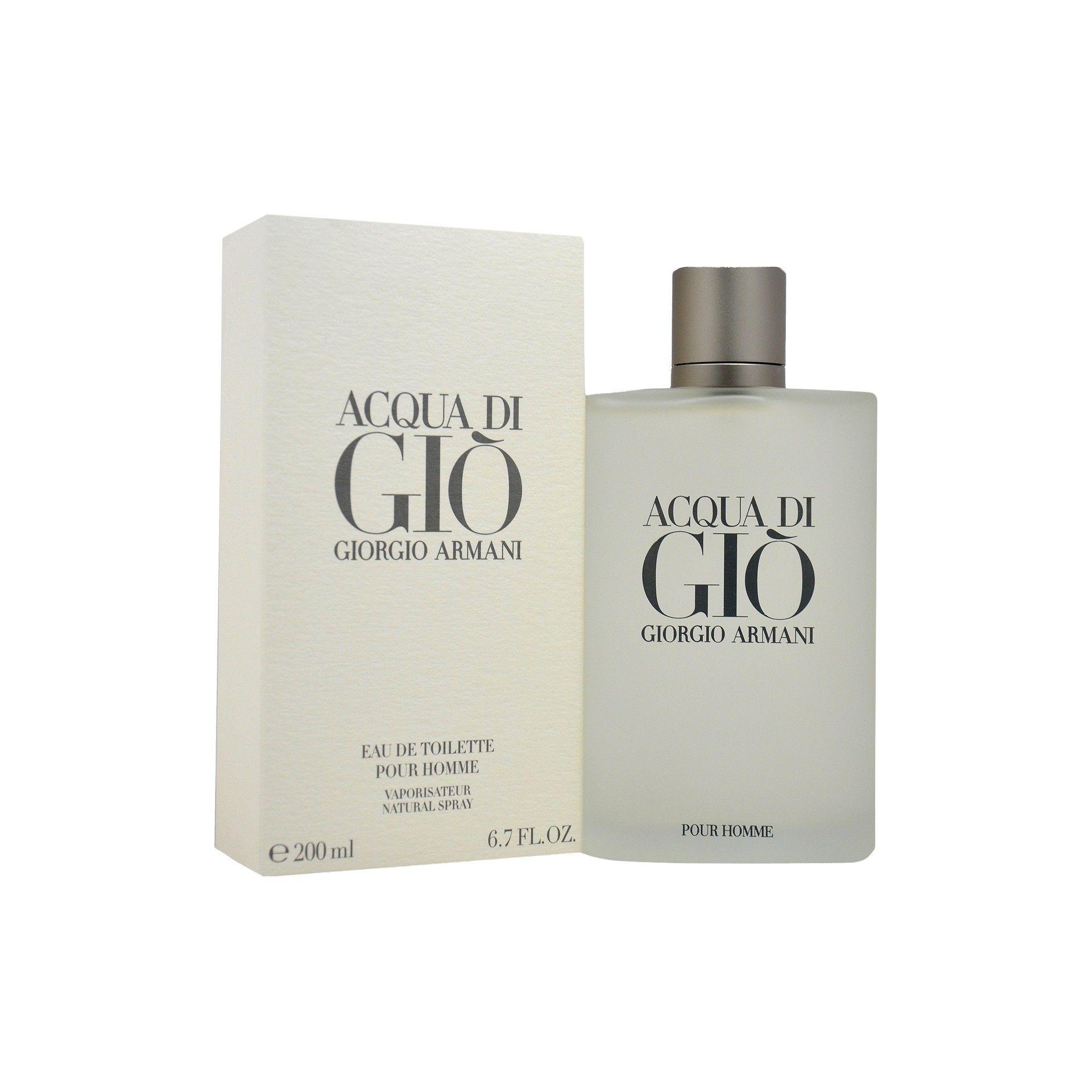 Acqua Di Gio By Giorgio Armani Eau De Toilette Mens Spray Cologne