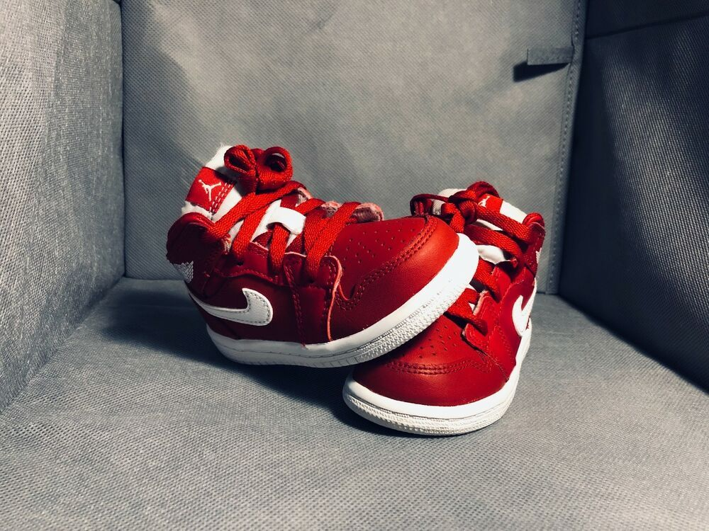 sports shoes 11166 2a5a2 Nike Air Jordan 1 Red/White Toddler Shoes Size 6c #fashion ...