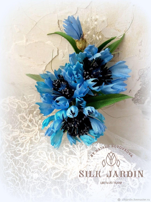 Цветы на заказ васильки — photo 13