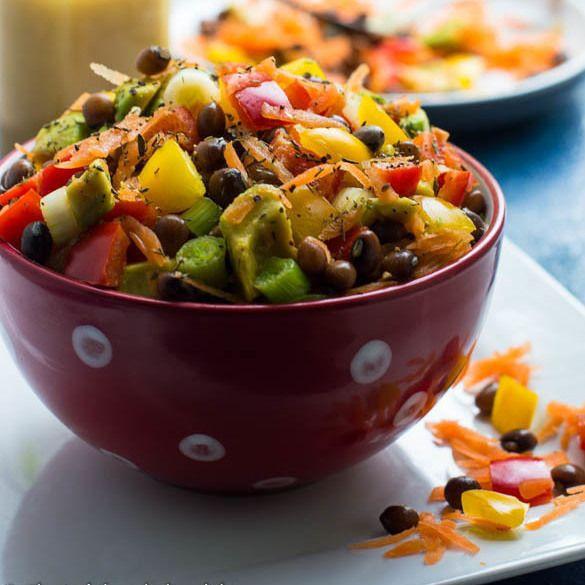 Gungo Pea Salad Recipe