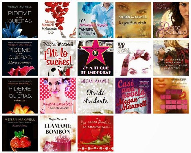 Todos Los Libros De Megan Maxwell Para Descargar En Pdf Megan Maxwell Libros Megan Maxwell Maxwell