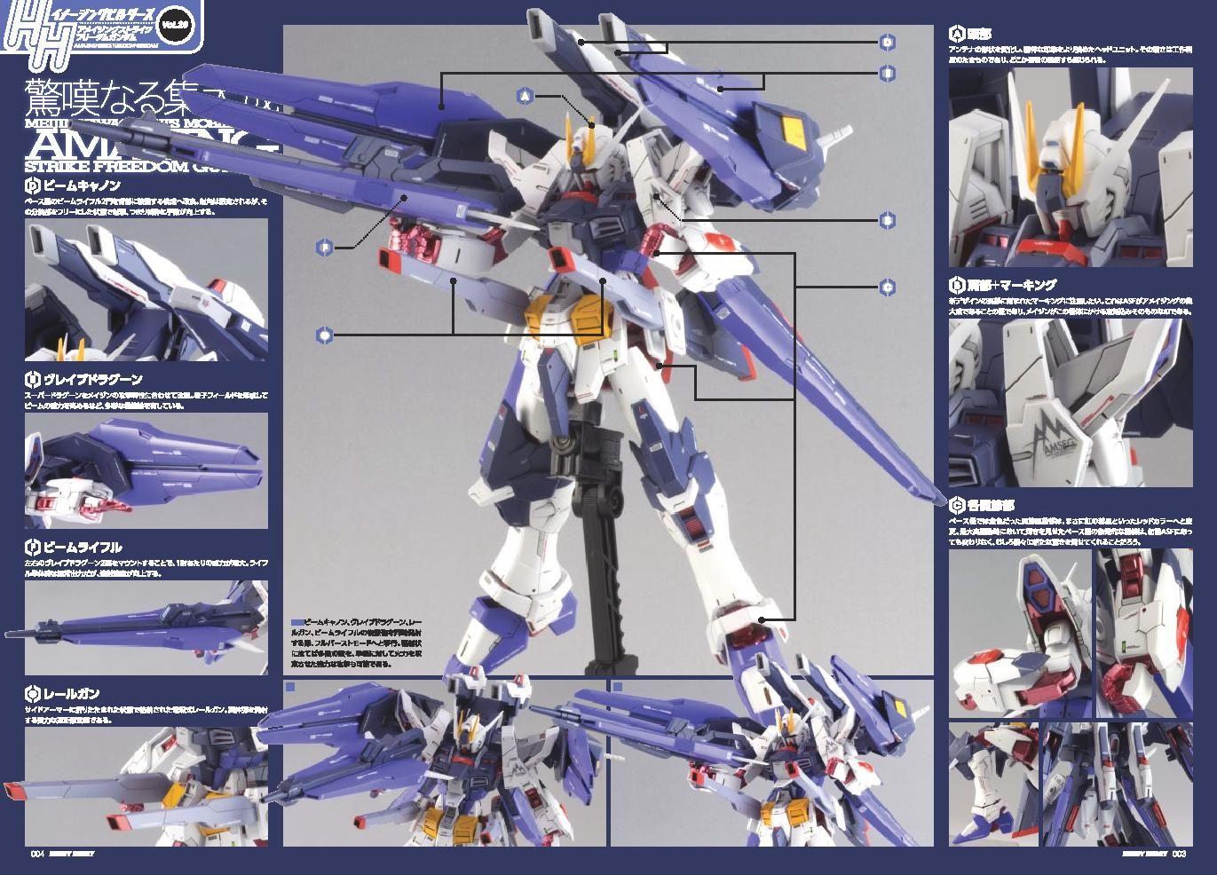 Hhib Features Hgbf 1 144 Amazing Strike Freedom Gundam Fin Funnel Equipment Type Gundam Kits Collection News And Revi Gundam Cross Silhouette Gundam Model