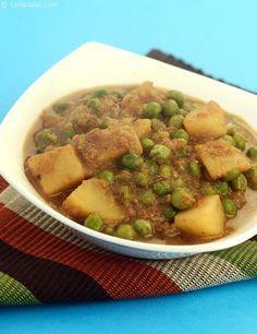 Aloo Mutter Moghlai recipe  