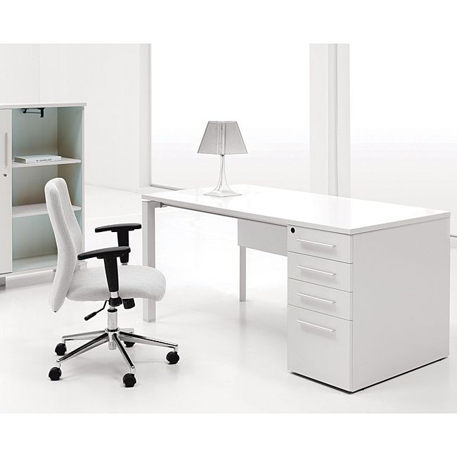 Sleek And Modern, This Study Desk Is Perfect For Any Space. With A Wooden