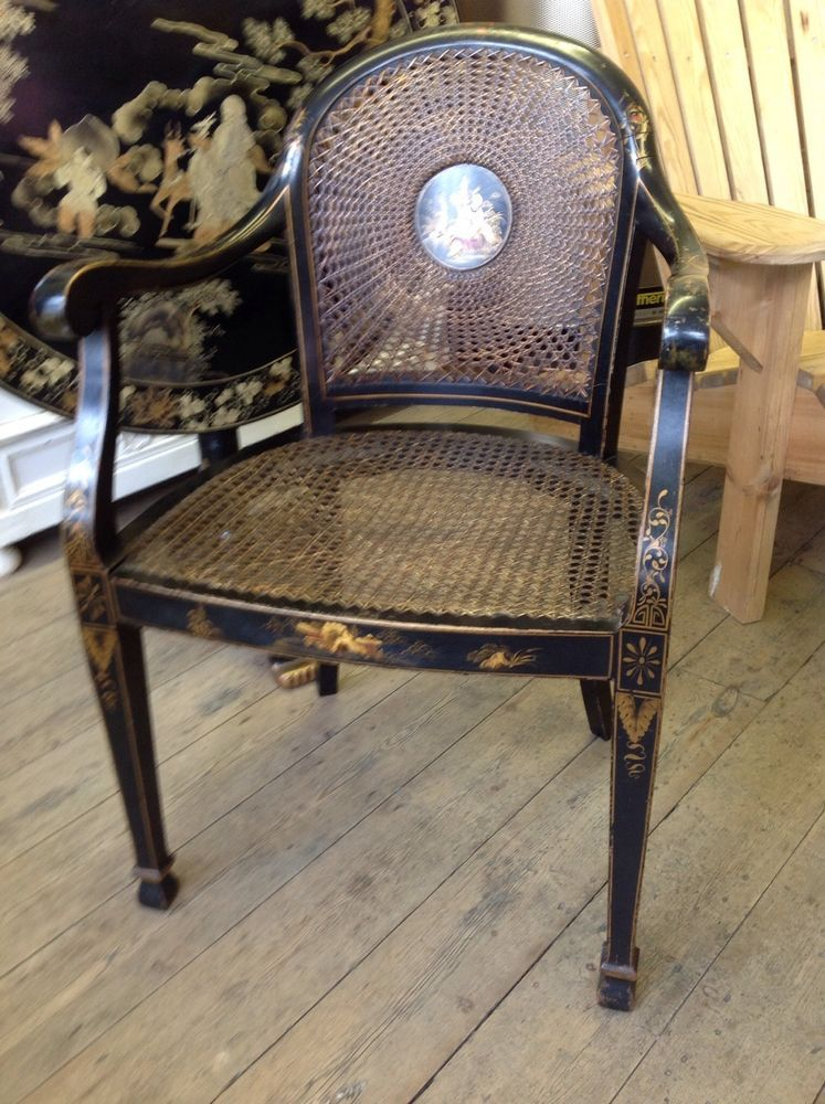 chinoiserie bergere chair in Antiques, Antique Furniture, Chairs | eBay - Chinoiserie Bergere Chair In Antiques, Antique Furniture, Chairs