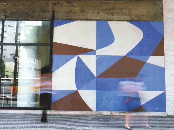 paulo werneck, mural no banco boavista, rio de janeiro, 1947