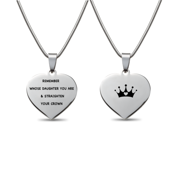39++ Remember whose daughter you are and straighten your crown jewelry viral