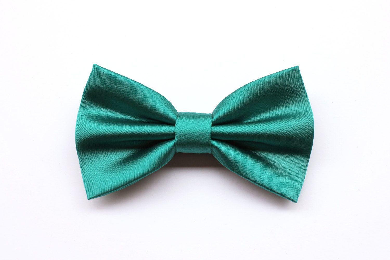 Photo of Papillon per uomo verde smeraldo, papillon per cerimonia, cr…