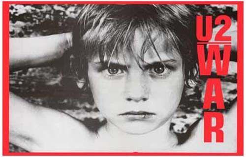 U2 War Album Cover Music Poster 11x17