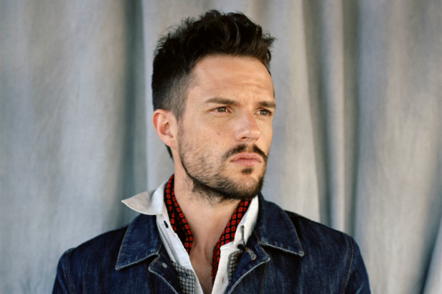 Brandon Flowers - you can sing to me any time you want...