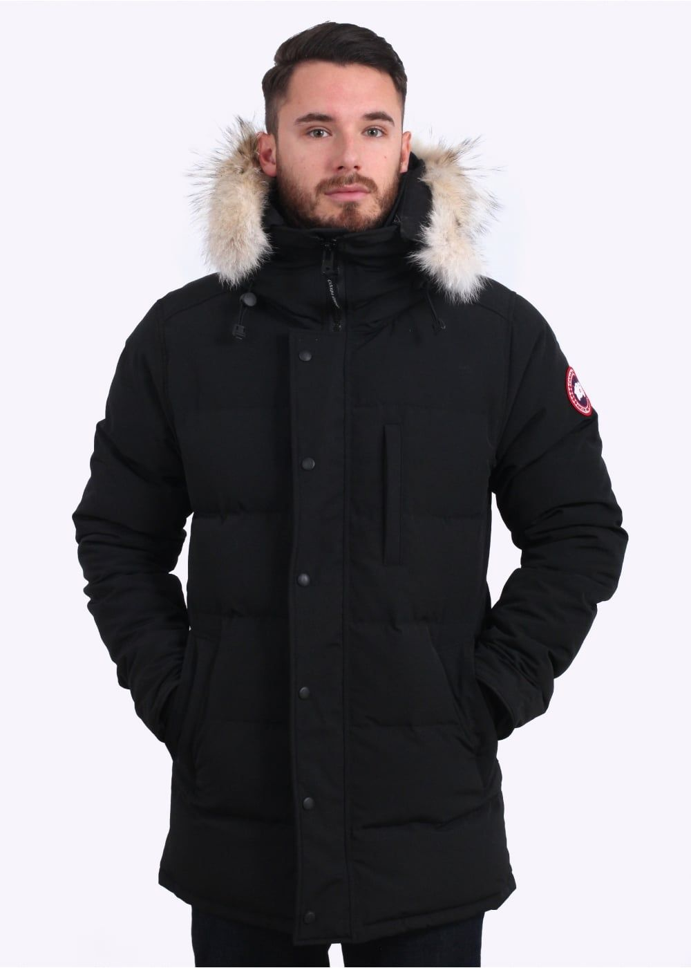 Canadagoose 99 On Winter Outfits Men Canada Goose Mens Parka