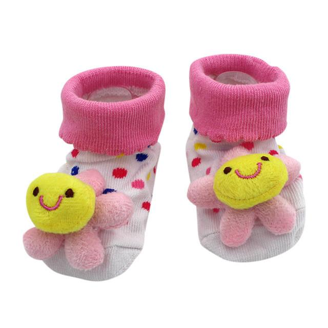 2018 Spring Anti-off Floor Socks Cute Baby Shallow Socks Toddler Shoes For Girls Boys First Walkers Newborn Shoes Free Shipping Mother & Kids