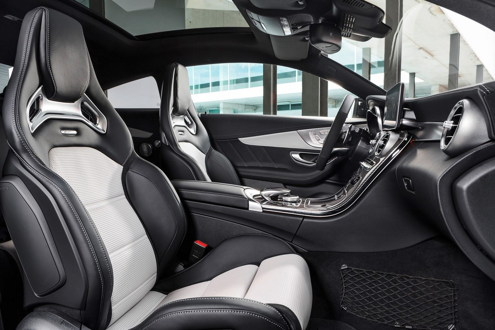 2016 Mercedes Amg C 63 S Coupe Front Seats Cars Pinterest