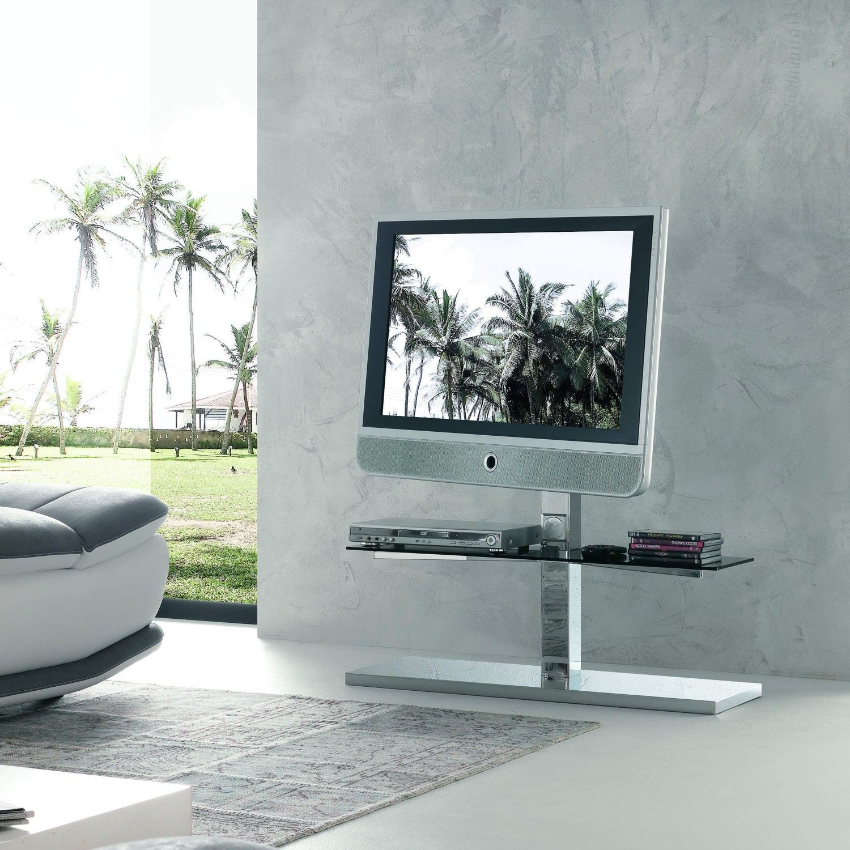 Porta Tv Orientabile Kino Con Piani In Cristallo Diotti Com Tv Stand With Glass Shelves Glass Shelves Ikea Floating Glass Shelves