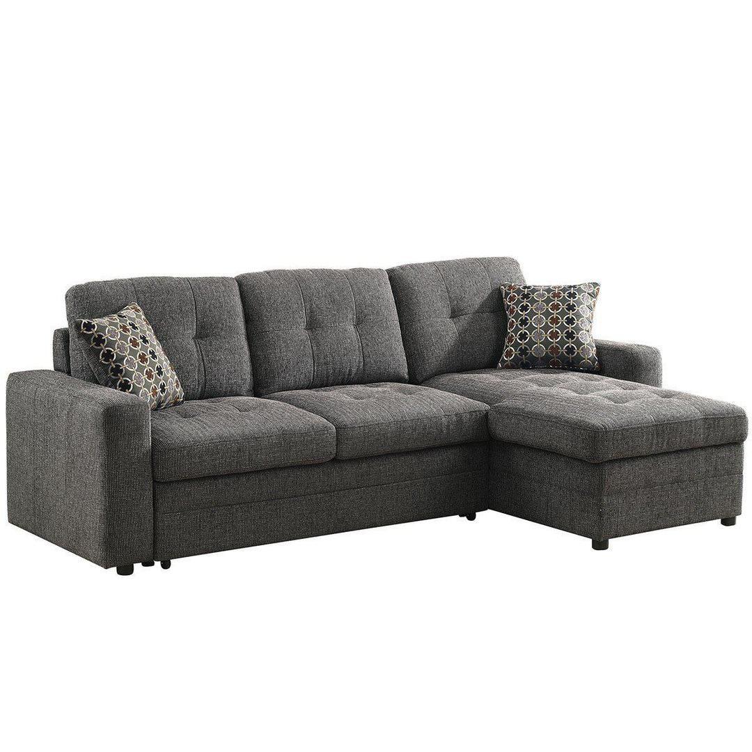 - Gus 2-Piece Sleeper Sectional – Jennifer Furniture Sectional