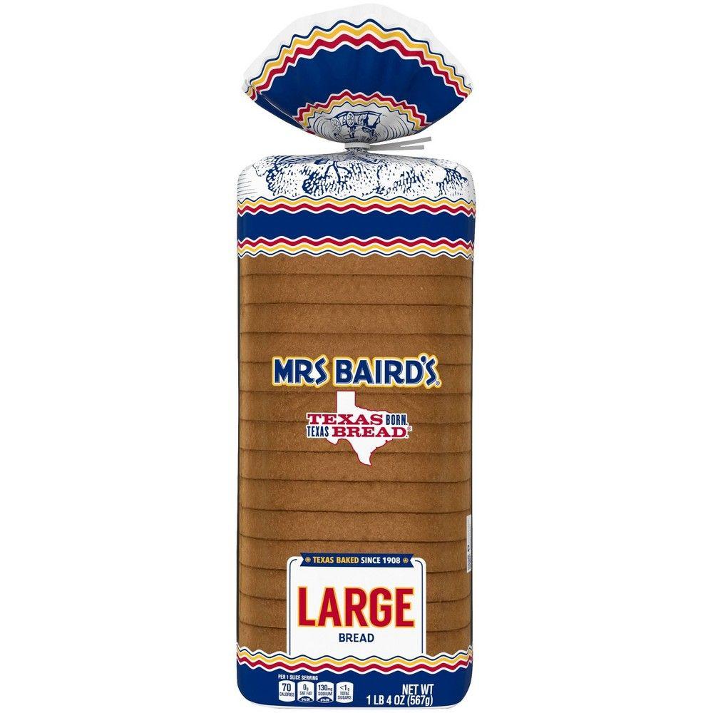 Mrs. Baird's Large White Bread 20 oz White bread