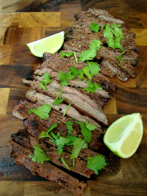 Chelsea's Culinary Indulgence: Grilled Lime Marinated Flank Steak & an Award
