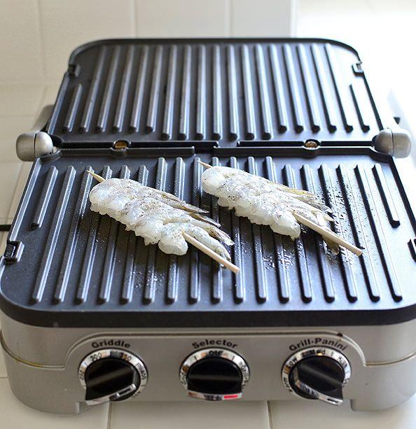 grill Pan bonefish asian sauce