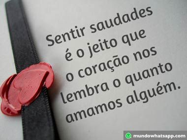 Imagens De Saudades Mundo Whatsapp Amor Pinterest Love