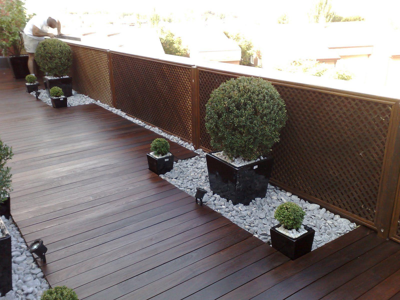 Jardines contemporaneos peque os inspiraci n de dise o - Diseno de jardines interiores ...