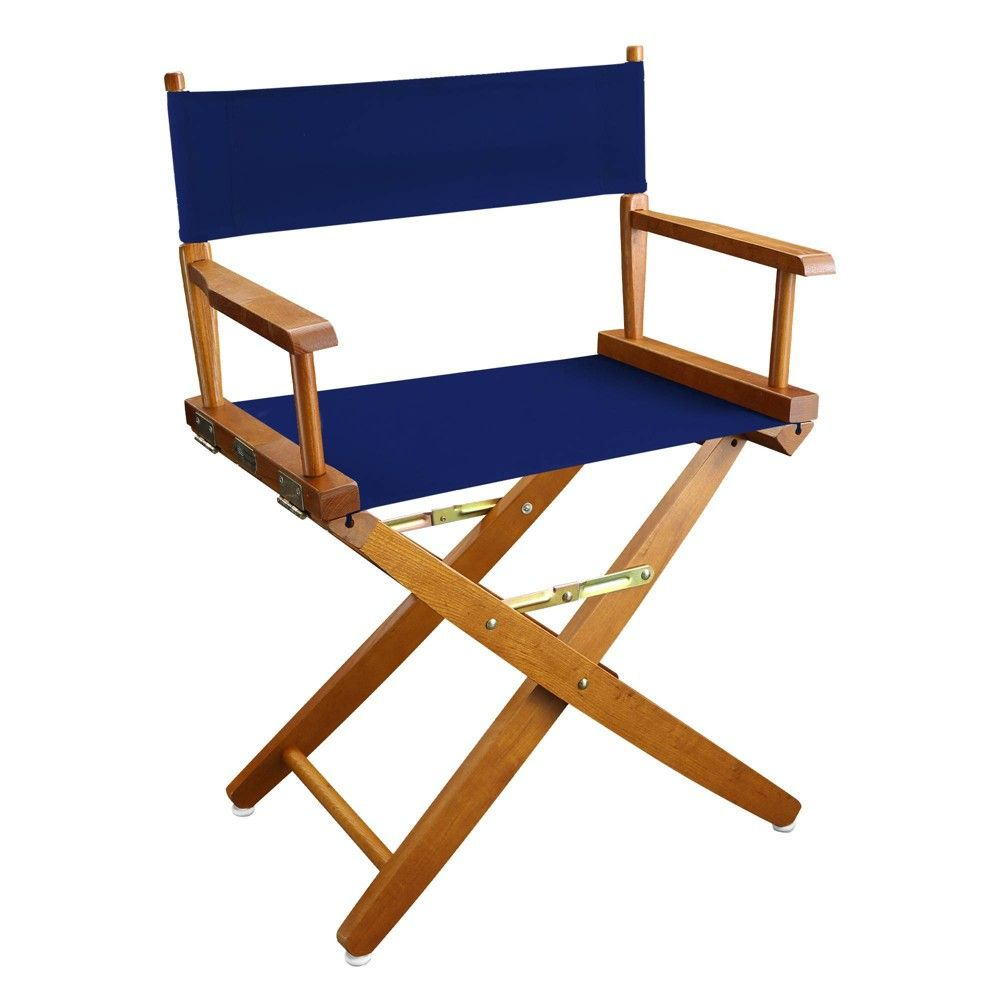 Extra Wide Directors Chair Royal Blue Flora Home In 2020