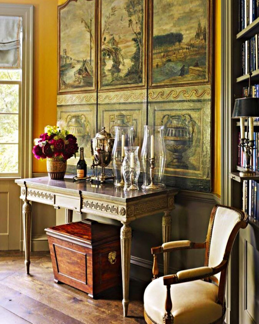 Jamesfcarterarch traditional interior house english country decor french  also my design style home rh pinterest