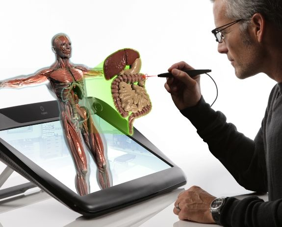 applications of holography in medical field