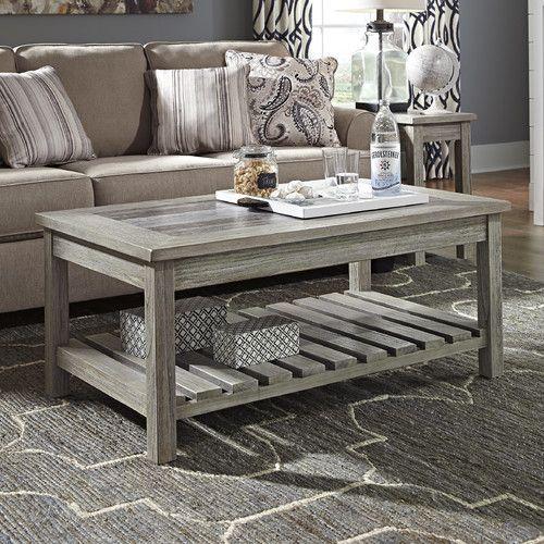 44+ Ashley furniture farmhouse coffee table model