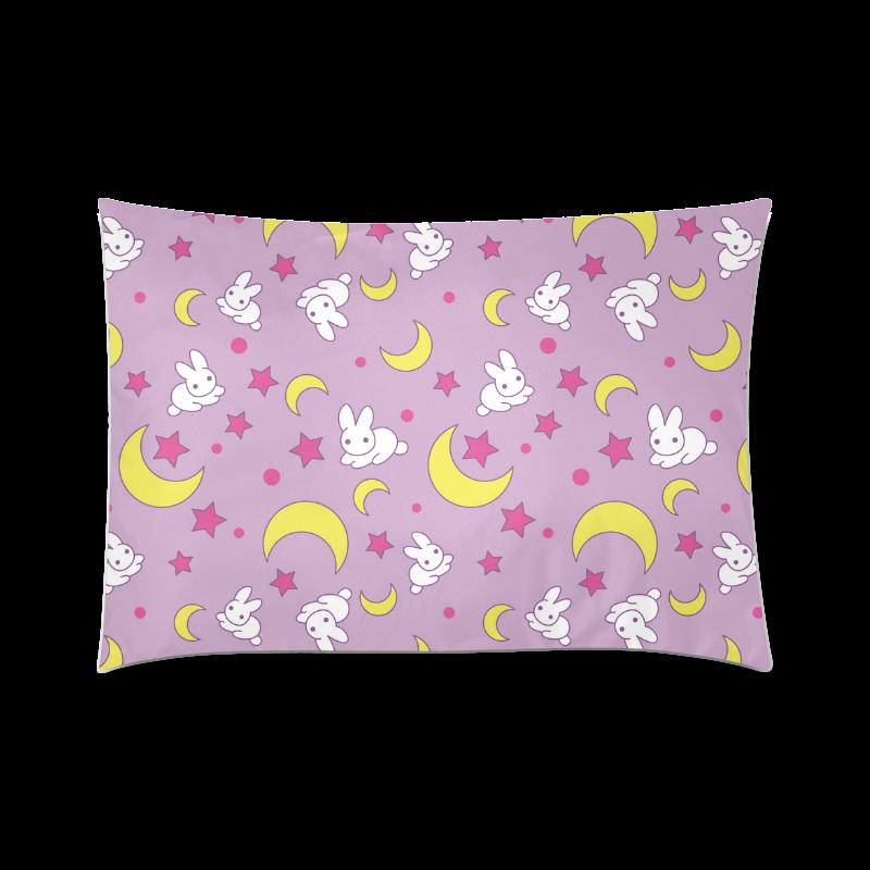 "Usagi Pattern Custom Zippered Pillow Cases 20""x30"" (one side)"