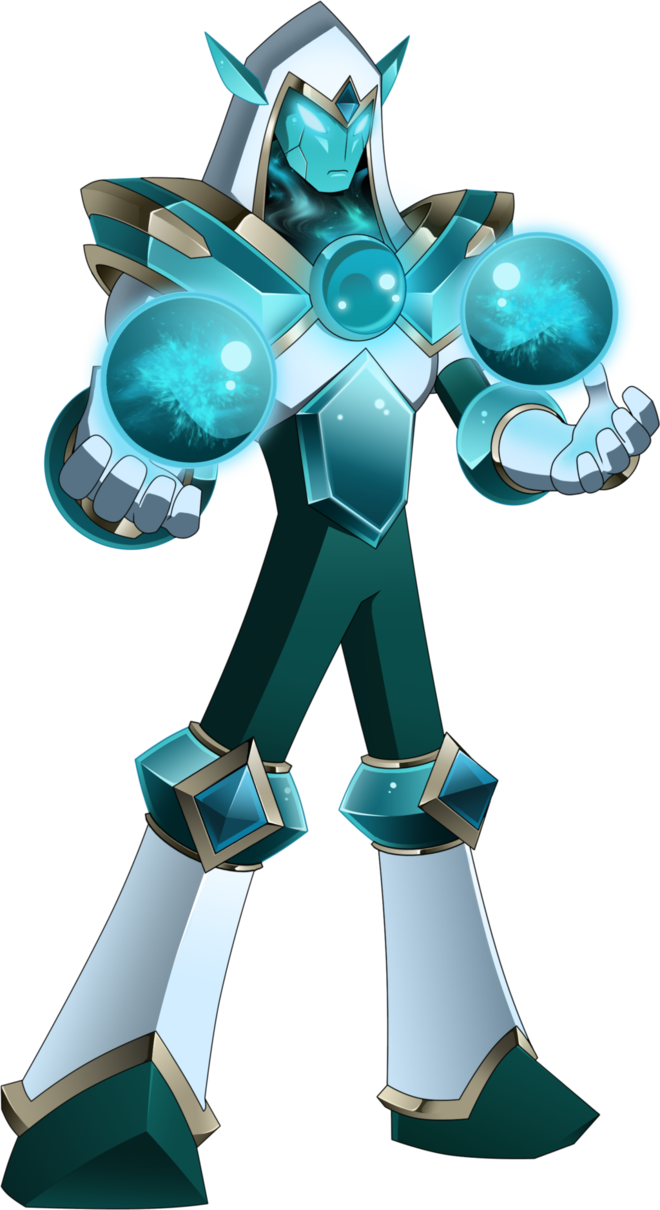 Mega Man Crystal Man