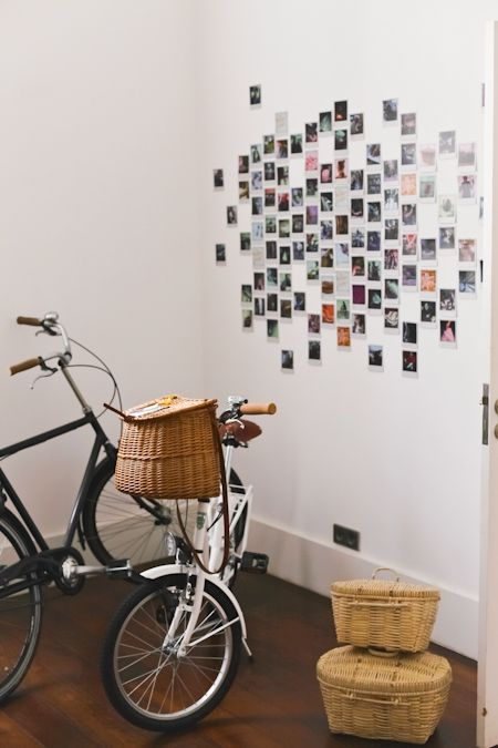 love the photos hanging on the wall instax ideas pinterest wg zimmer polaroid und. Black Bedroom Furniture Sets. Home Design Ideas