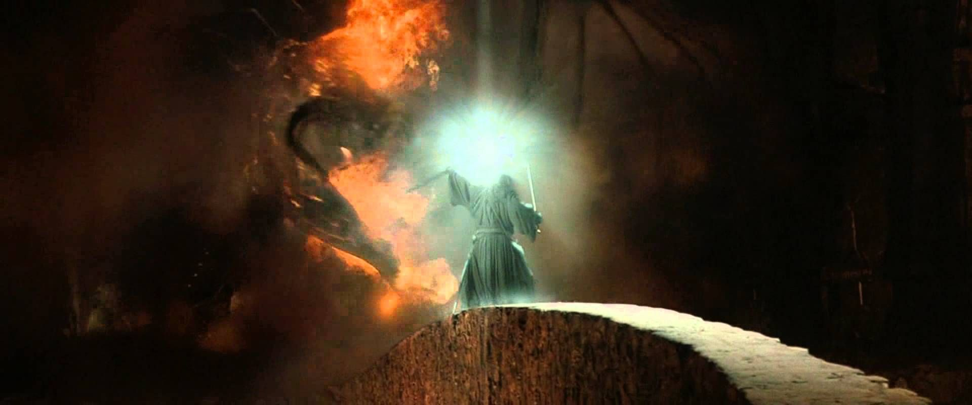 Lord Of The Rings Fellowship Of The Ring Gandalf Vs The Balrog You Shall Not Pass Submoment Lord Of The Rings Fellowship Of The Ring Lotr