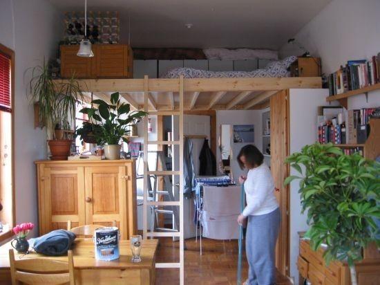 Small Studio Apartment Loft 16