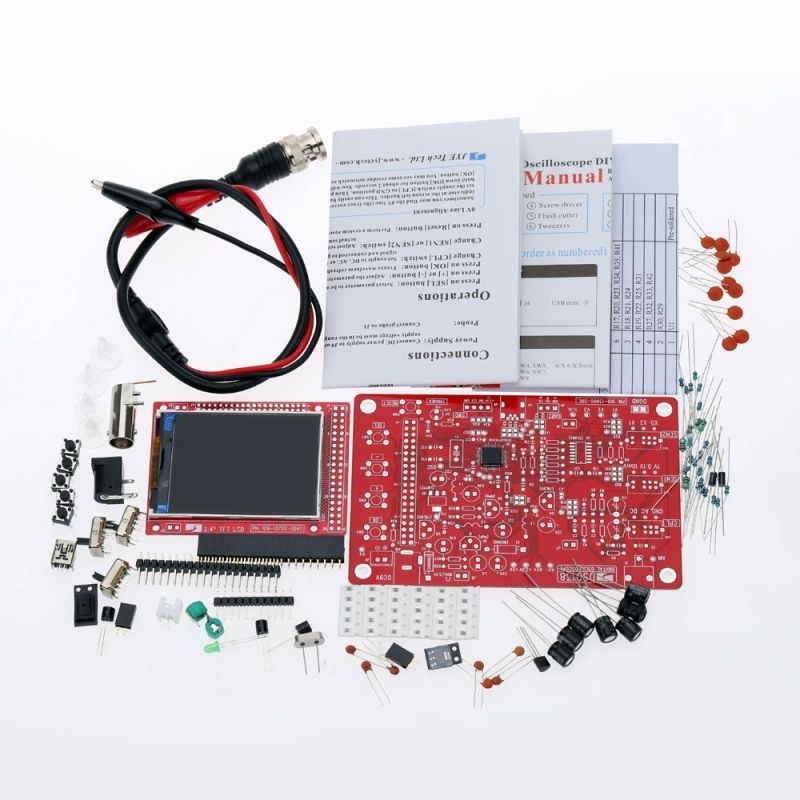 Dso138 diy digital oscilloscope kit smd soldered 13803k version solutioingenieria Image collections