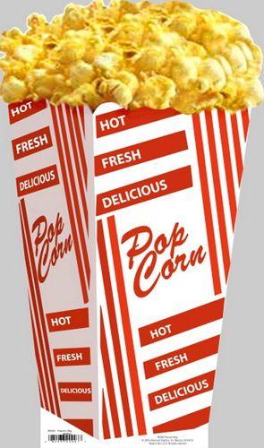 "Advanced Graphics 592 Popcorn Bag- 56"" x 33"" Cardboard Standup"