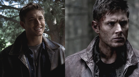 Season 1 and Season 8 <3 (Now, unfortunately this man will be liked no matter what season...there's something about Jensen..his smile. ;] )