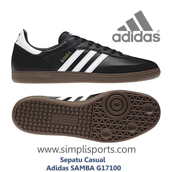 Sepatu Sneakers Casual Adidas Samba ORIGINAL G17100 www.simplisports.com