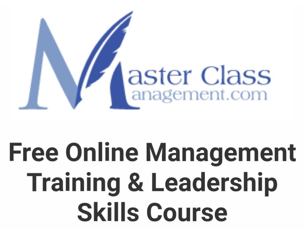 Free Online Management Training Leadership Skills Course Master