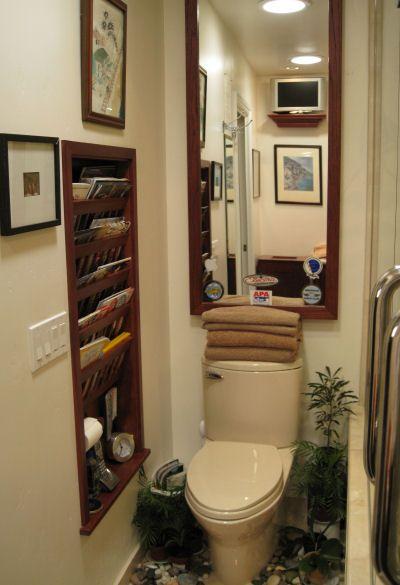 Saving E Magazine Holder Bathroom Shower Remodel