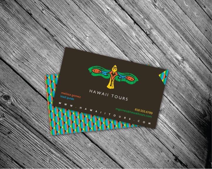 Hawaii tours business card diseo de papelera pinterest hawaii tours business card reheart Gallery