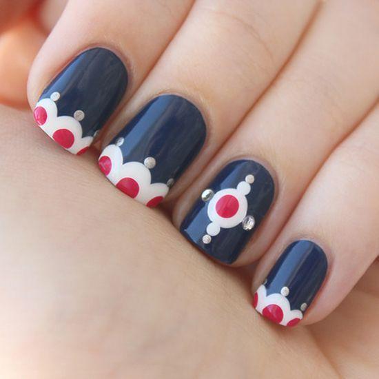 Dot dot dot nail art httpnailpolishtodaytumblr nails wow dot dot dot nail art httpnailpolishtodaytumblr sciox Image collections