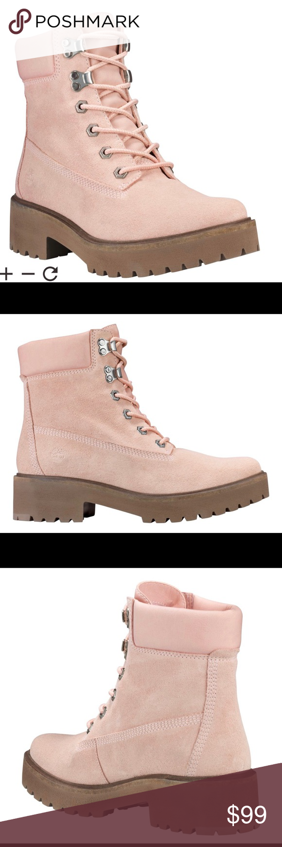LIGHT PINK SUEDE WOMEN'S CARNABY COOL 6 INCH BOOTS Our