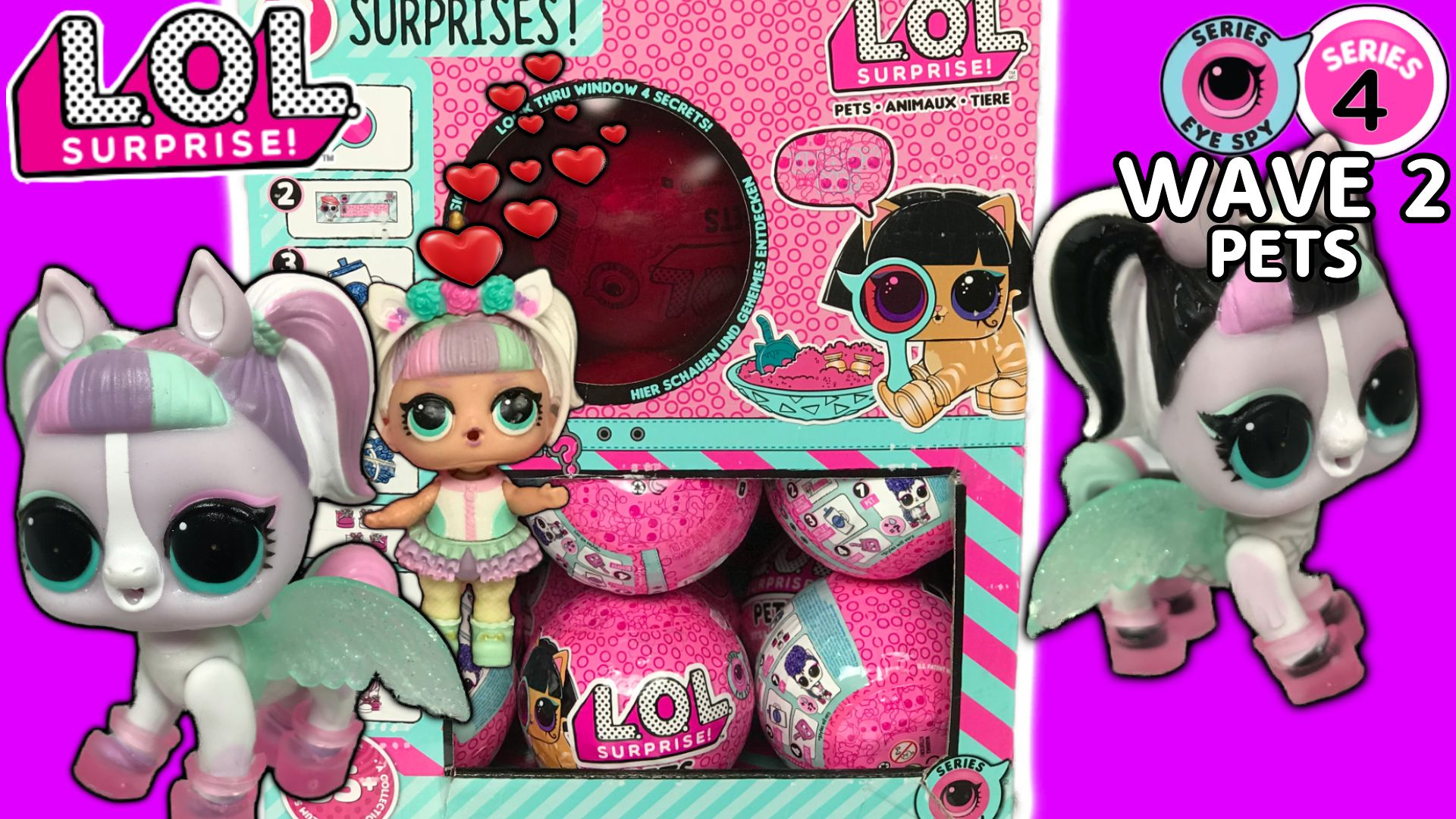 Lol Surprise Series 4 Wave 2 Pets Are Here We Are Unboxing A Full Case Of The Series 4 Wave 2 Lol Pets Today We Lol Dolls Unicorn Stuffed Animal Doll Videos