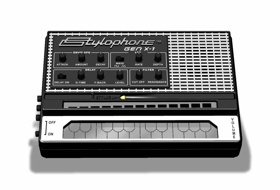 stylophone gen x 1 is a souped up version of the classic 39 60s toy synth gizmos music. Black Bedroom Furniture Sets. Home Design Ideas