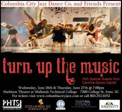 Turn Up The Music Presented By Columbia City Jazz Dance School And Company And Cultural Council Of Richland Lexington Coun Columbia City Dance School Dance