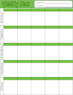 Free Printable Homeschool Lesson Plan Page 6 Colors I Have Been