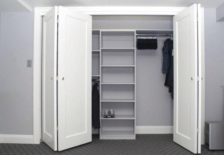 Wide Closet Doors 8 Ft Foot Sliding Closet Bedroom Bifold Closet Doors Closet Remodel