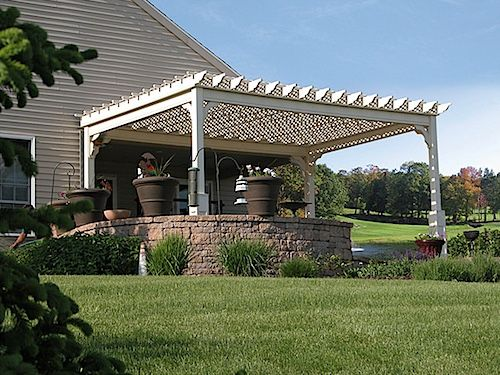 National Metal Industries 12 X 16 Traditional White Vinyl Pergola Pergola Vinyl Pergola Gazebo Pergola