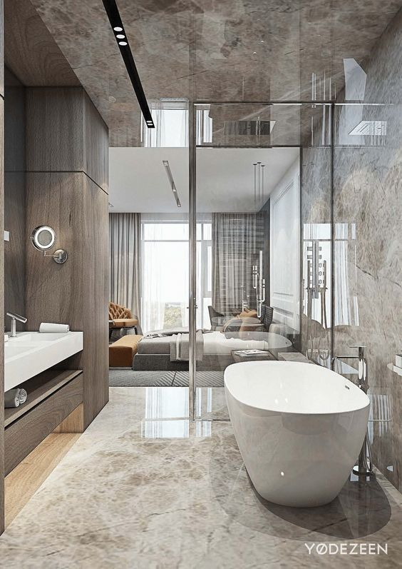 Interior Goals: 25+ Amazing Luxury Bathrooms #dreambathrooms